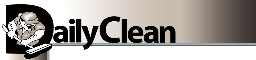 logo for daily clean janitorial